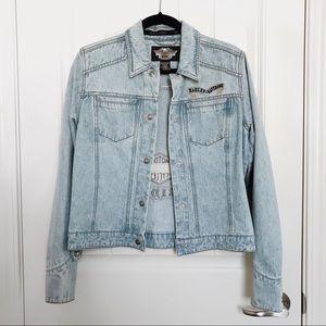 (Authentic) Harley-Davidson Denim Jacket